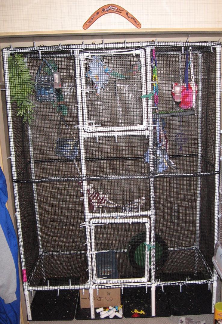 Glidergossip Homemade Cages