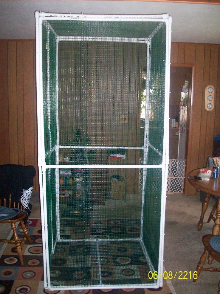 Glidergossip Pvc Cage