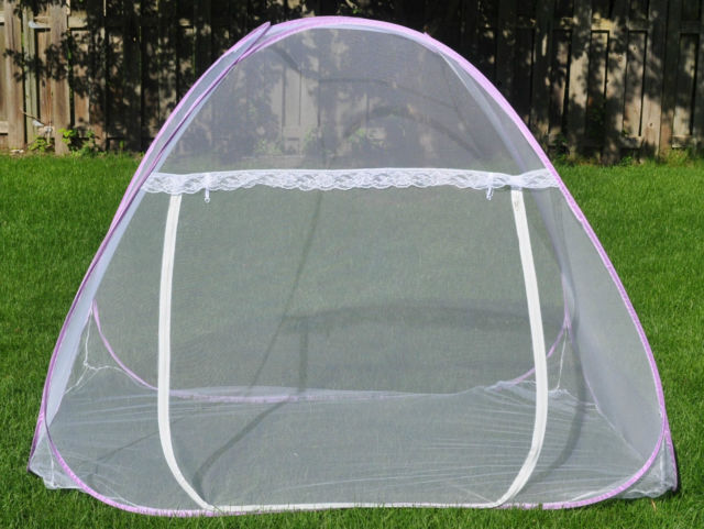 NEW White Portable Folding Mosquito Net Tent Canopy 5 Sizes : sugar glider play tent - memphite.com